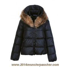 Buy Meilleur Doudoune Moncler Veste Femme Sauvage Zip Fur Collar Noire  Mariepesenti Discount from Reliable Meilleur Doudoune Moncler Veste Femme  Sauvage Zip ... 1638652b0ba