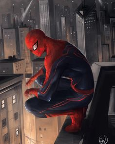 """Still Your Friendly Neighborhood Spider-Man !!! Love this piece by Enio Caglia  It shows that while other heroes focus on the globe Peter focuses on his hood! """"You can take him out the hood but can't take the hood out him. """"  #captainamericacivilwar #marvelcomics #Comics #comicbooks #avengers #marvel  #captainamerica #ironman #thor #hulk #hawkeye #blackwidow #spiderman #vision #scarletwitch #civilwar #spiderman #infinitygauntlet #blackpanther #guardiansofthegalaxy #deadpool #wolverine…"""