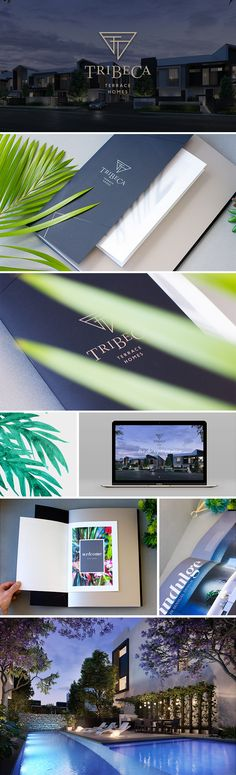 Inspired by New York's prestigious TriBeCa neighbourhood with its premium properties and dynamic cultural tapestry, this is a captivating address that embodies the art of gracious urban living. Envisioned by Di Carlo Property Group, designed by award winning TVS Architects and styled to perfection by Leigh Way Designs, it's a stunning collection of luxury 3-bedroom freehold terrace homes.   #logo #brochure #property
