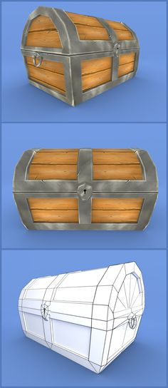 hand painted treasure chest model rendered in blender cycles..  https://www.cgtrader.com/3d-models/sports/game/treasure-chest-hand-painted