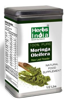 Moringa Powder - Freeze Dried Moringa Leaf Powder - Half Lb - Herbs India ** See this great image  : Herbal Supplements