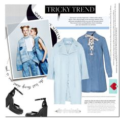Tricky Trend: Denim! by pixie-market on Polyvore featuring Windsor Smith and H&M