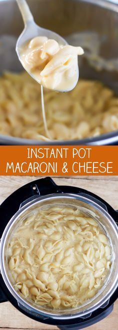 Instant Pot Pressure Cooker Macaroni and Cheese                                                                                                                                                                                 More
