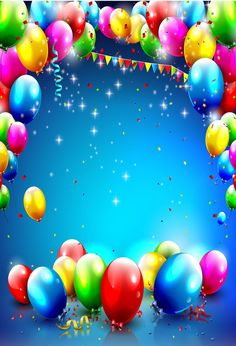 Chiefbackdrop™ Surrounding Balloons Background For Party Idaes And Baby Shower - - Chiefbackdrop™ Surrounding Balloons Background For Party Idaes And Baby Shower Teachers Chiefbackdrop ™ umgebende Luftballons Hintergrund für Party Idaes und Bab Balloon Background, Confetti Background, Birthday Background, Frame Background, Happy Birthday Frame, Happy Birthday Wallpaper, Birthday Frames, Birthday Text, Light Up Balloons