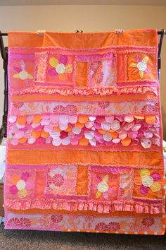 Sew Girly Rag Quilt Pattern | A Vision to Remember All Things ...
