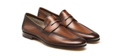 Magnanni Penny Loafers Shoes for Men