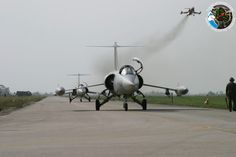 The Aviationist » The last ever operative flight of the legendary F-104 Starfighter, 12 years ago today