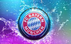 Abstrakt Bayern München hintergrund