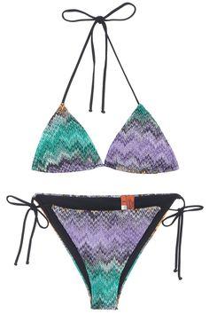 ZZ Lurex Reversible Bikini By MISSONI @ http://www.boutique1.com/