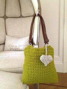 The Loden Handbag by AnnooCrochet on Etsy