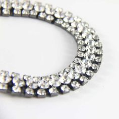 Sparkling vintage clear rhinestone bracelet from LuluandBelle. Available @ www.luluandbelle.com for €49.