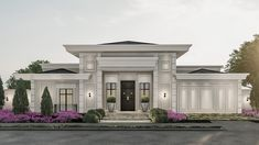 Versace Mansion Miami, House Outside Design, Classic House Design, Circular Driveway, Fancy Houses, Storey Homes, Diy Home Decor Projects, Facade House, Modern Architecture