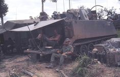 Armoured Personnel Carrier, Military Vehicles, Vietnam, Base, Army Vehicles