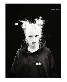 Anja Konstantinova by Viktor Vauthier for Lazy Oaf