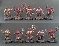 Warhammer Age of Sigmar | Khorne Bloodbound | Bloodreavers #warhammer #ageofsigmar #aos #sigmar #wh #whfb #gw #gamesworkshop #wellofeternity #miniatures #wargaming #hobby #fantasy