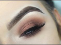 URBAN DECAY NAKED HEAT | EASY Smokey Eye Makeup Tutorial - YouTube