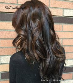 Long curly brunette hairstyle Source by Long Layered Haircuts, Haircuts For Long Hair, Long Hair Cuts, Straight Hairstyles, Cool Hairstyles, Layered Hairstyles, Beautiful Hairstyles, Formal Hairstyles, Wedding Hairstyles