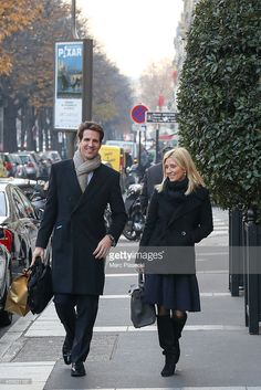 News Photo : Princess Marie-Chantal of Greece and Prince...