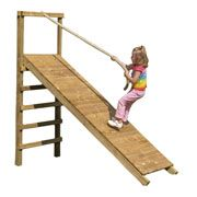 Action Climbing Frames Glastonbury Climbing Ramp Add On – Next Day Delivery Action Climbing Frames Glastonbury Climbing Ramp Add On from WorldStores: Everything For The Home Kids Backyard Playground, Natural Playground, Backyard For Kids, Backyard Games, Backyard Projects, Kids Outdoor Play, Kids Play Area, Outdoor Fun, Outdoor Play Structures