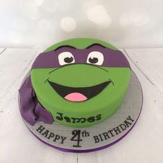Teenage Mutant Ninja Turtle birthday cake                                                                                                                                                     More