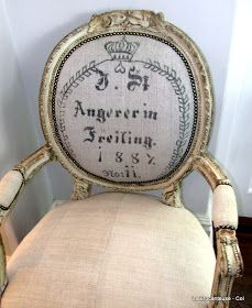 About the deconstructed French chairs in a previous post: I have had inquiries by mail and comments, about where to find these chairs, is...
