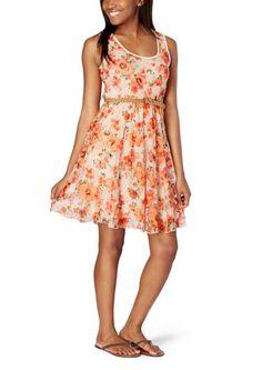 Rose Printed Lace Skater Dress | Dresses | rue21