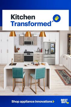 Give your home the ultimate kitchen refresh with the latest in cooking and food prep tech. Our experts are ready to help you find the right appliances to help upgrade your home today. Kitchen Redo, Kitchen Remodel, Barn Kitchen, Appliance Sale, Brown House, Best Appliances, Interior Walls, Smart Home, Soffit Ideas