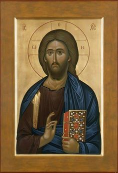 Christ by zoran zivkovic Images Of Christ, Paint Icon, Holy Quotes, Orthodox Icons, All Icon, Christianity, Saints, Spirituality, Hand Painted