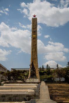 Tiglachin Monument, Addis Ababa, Ethiopia.