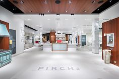 A.R.E. - Association for Retail Environments PIRCH Glendale Galleria, Los Angeles, CA  This 24,000-square-foot showroom of best-in-class kitchen, bath and outdoor products encourages shoppers are encouraged to think about how they want to live, rather than what to buy. The experiential environment combines working vignettes with hands-on labs in a contemporary residential setting that's smart, modern and fresh, from the refined elegance of ceiling elements and linear trough