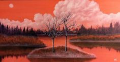 Buy Autumn Sky, Oil painting by Anthony Lusignan on Artfinder. Discover thousands of other original paintings, prints, sculptures and photography from independent artists. Sky Painting, Oil Painting On Canvas, Canvas Art, Original Paintings, Original Art, Realism Art, Autumn Inspiration, Lovers Art, Buy Art