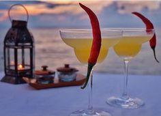 Since Lombok literaly means chili, we proudly presents to you the unique taste of Lombok's truerr cocktail; The Rujaktini. Enjoy your fabulous evening ☺️ . . Beautifully captured by @popytobing . . . #sudamala #resorts #senggigi #lombok #indonesia #travel #discover #explore #olaholahrestaurant #sunset #beach