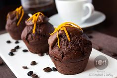 Chocolate muffins from gotowaniezpasja.pl
