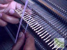 50) Vídeo - tejer a maquina leccion 2