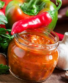 Bottles And Jars, Pesto, Pickles, Cooking Tips, A Table, Barbecue, Chili, Food And Drink, Pizza