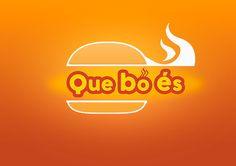 Logotip Que bo és on Behance