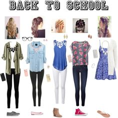 High school dress styles