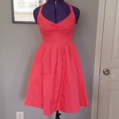 Red dress size 6 petite 6 months