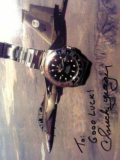 Rolex GMT master II Tiffany ref.16710 & CY ( Signature of Chuck Y)