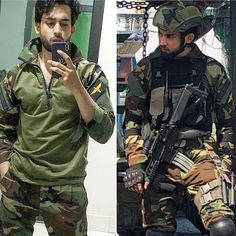 Hottness Alert 🔥❗Heartthrob is totally stealing the 'game of semblance' in this uniform 💯😍 undeniably he can slay 'ANYONE' ⚡💥. Bilal Abbas Khan, Navy Uniforms, Army Uniform, King Of Hearts, Jennifer Winget, Celebs, Celebrities, Slay, Pakistani