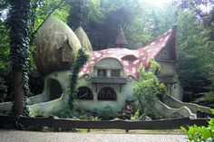 Actual place in the Netherlands, part of an amusement park, page is in dutch but you can use bing to translate.