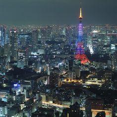 Roppongi Hills Mori-Tower. - @gomatsuo | Webstagram 東京 六本木 夜景