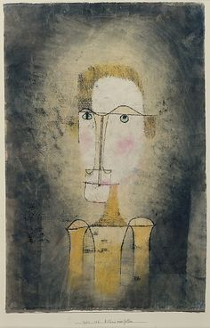 Paul Klee | Portrait of a Yellow Man 1921| The Met