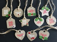 I'm in Haven: Christmas Tags