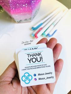 Custom Business Cards, Custom Thank You Cards, Packaging Inserts, Small Business Cards, Busine Business Thank You Cards, Custom Business Cards, Custom Thank You Cards, Thank You Labels, Thank You Stickers, Black And White Stickers, Packaging Stickers, Business Stickers, Custom Stickers