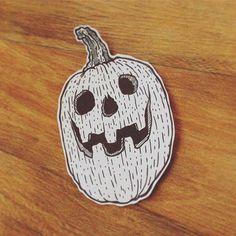 Happy Halloween everybody #drawing #draw #illustration #illustrator #ink #pen #print #pumpkin #halloween #carvedpumpkin #darkartists #blackwork #sketchbook #flashtattoo #tattoo #vegetables #hydeomega