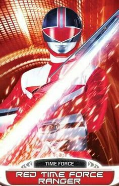 Red Time Force Power Ranger