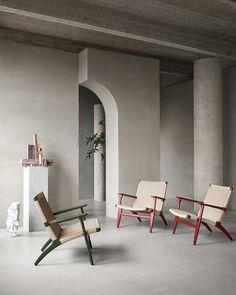 "Design Milk on Instagram: ""Furniture manufacturer @carlhansenandson are celebrating more than 70 years of collaboration with iconic furniture designer Hans J. Wegner,…"""