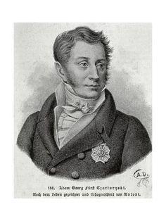 Giclee Print: Poland, Portrait of Prince Adam Jerzy Czartoryski : 24x18in