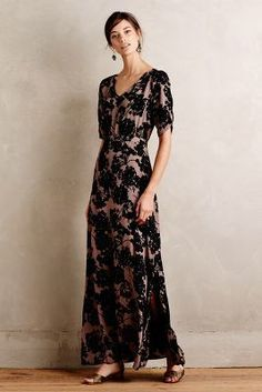 Anthropologie Paper Crown Florette Maxi Dress on ShopStyle!